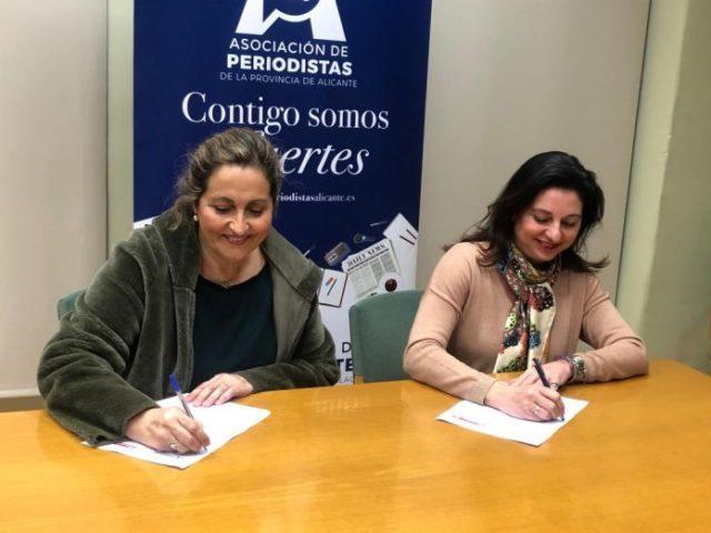 La APPA y la Federación Provincial de Amas de Casa, Consumidores y Usuarios Lucentum de Alicante firman un acuerdo de colaboración