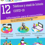 Teléfonos y email de Interés COVID-19