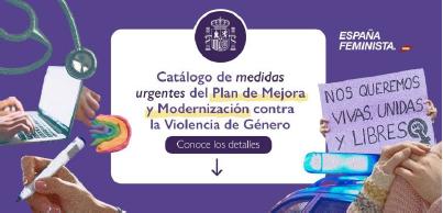MEDIDAS URGENTES CONTRA LA VIOLENCIA      DE GÉNERO